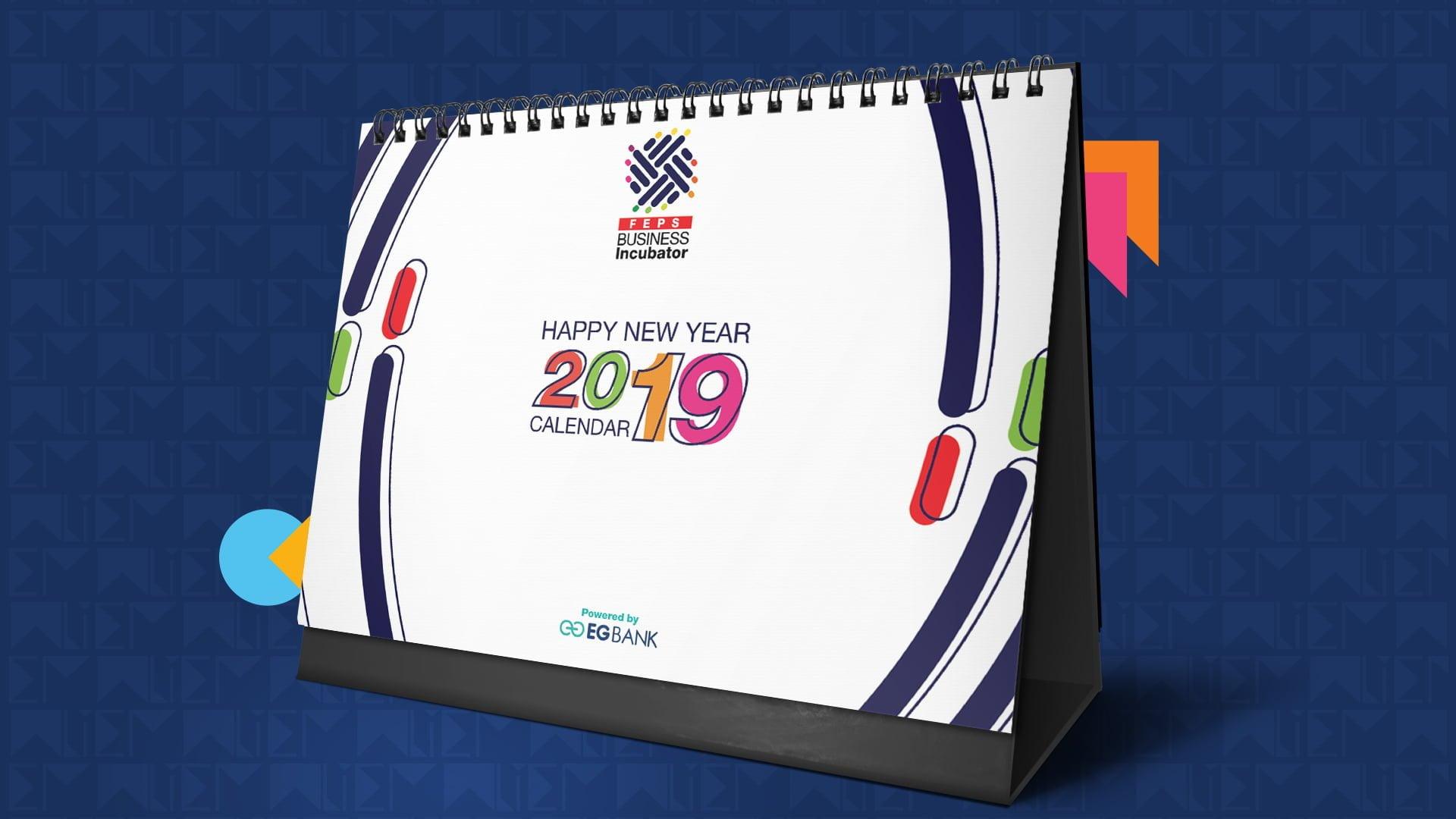FEPS BI 2019 Desk Calendar